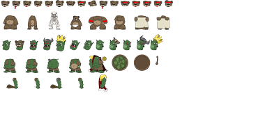 X360 Don't Feed the Trolls Characters Sprite Sheet