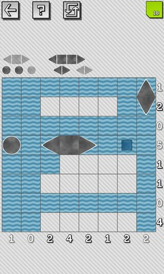 Battleship Solitaire Puzzles - Screenshot 2