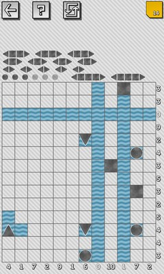 Battleship Solitaire Puzzles - Screenshot 4